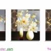 [T-LV3091] Tranh thêu chữ thập BÌnh Hoa (kích thước trung bình 128x45cm)